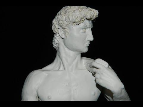 ДАВИД МИКЕЛАНДЖЕЛО ИЗ ПЛАСТИЛИНА David Michelangelo