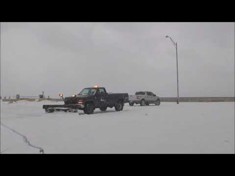 Michigan City Indiana Lake Effect Snow Dec 9th 2017