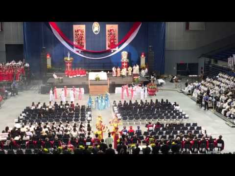Incense Dance (Dâng Hương) at 117 Vietnamese Martyrs Mass 2016