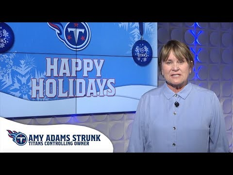 Merry Christmas and Happy Holidays from the Tennessee Titans