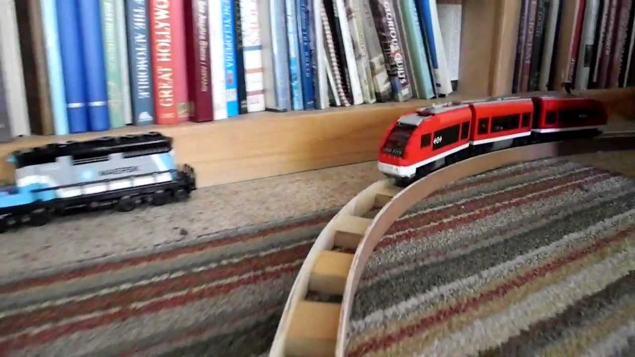 How To Make Lego Train Tracks Youtube