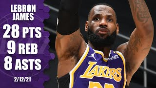 LeBron James (28 points) fuels <b>Lakers</b> to win vs. Grizzlies ...