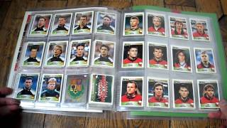 UEFA EURO ENGLAND 1996 COLLECTION STICKERS PANINI COMPLETE, FULL SET