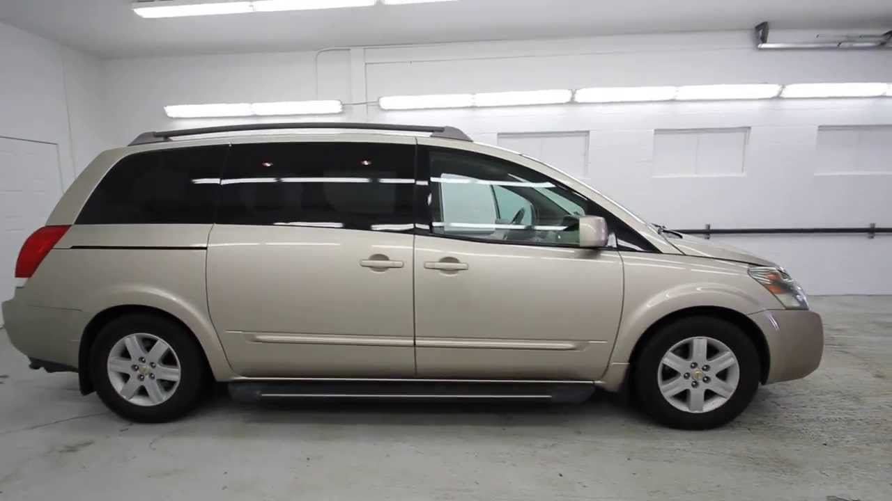 2004 nissan quest 3.5 sl | gold | 4n332089 | seattle | renton