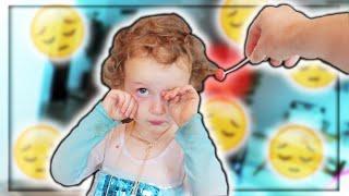 Lollipop STUCK In Her HAIR!!!