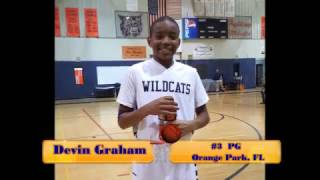 2016 Devin Graham - OPJHS Basketball 3 pointers
