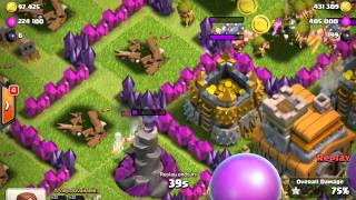 Clash of Clans A TON OF LOOT!!! 900K rescources!