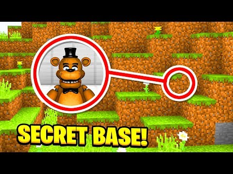 Minecraft : WE FOUND FREDDY FAZEBEARS SECRET BASE! (Ps3/Xbox360/PS4/XboxOne/PE/MCPE)