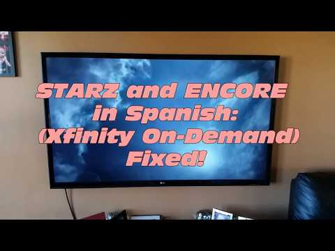 Can you change spanish channel to english