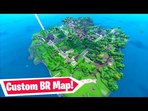 I Found The BEST Custom BR Map In Fortnite (Codes In Comments) Storm Surge Battle Royale