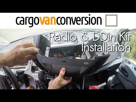 Ford Transit Radio Upgrade & DDin Installation