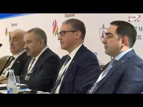 """""""Xəzər və Mərkəzi Asiya: ticarət, logistika, neft emalı, neft-kimya"""" forumu işə başlayıb"""