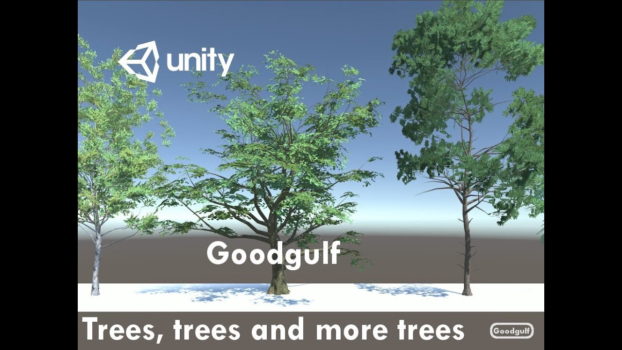 Three Unity Tree Assets and the May Madness Sale