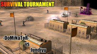 DoMiNaToR vs Jundiyy - Survival Tournament Round 1