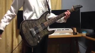 【ギター】Naked Dive / SCREEN mode【無彩限のファントム・ワールド OP】Guitar cover
