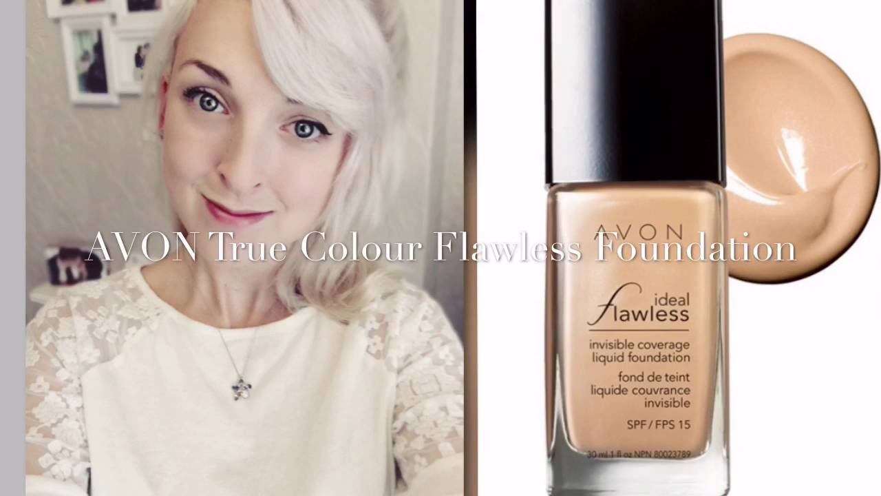 Avon True Colour Flawless Foundation Rachyreviews Youtube