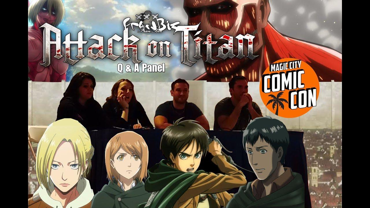 Attack On Titan Q A Panel Magic City Comic Con