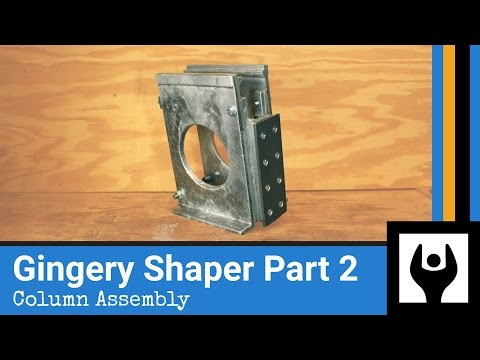 Casting the Column Front and Column Assembly - Gingery Shaper Part 2