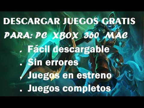 descargar juegos completos: