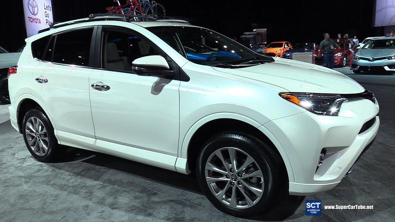 2017 Toyota Rav4 Platinum Exterior And Interior Walkaround 2017