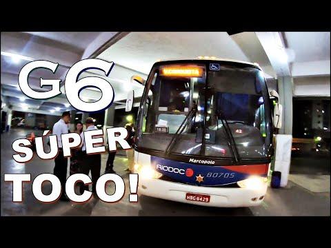 Peguei um G6 rodado da RIO DOCE | GOVERNADOR VALADARES À VITÓRIA DA CONQUISTA de Convencional 1050