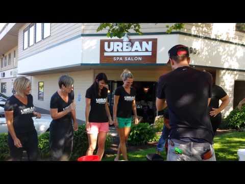 Urban Spa Salon Ice Bucket Challenge