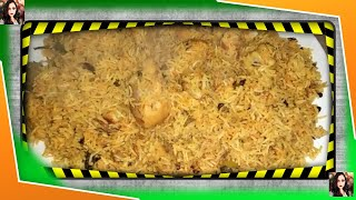 Jhatpat chicken biryani fully flavored of spices Recipe by Maria