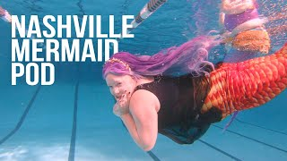 Nashville Mermaid Pod January 2020 Meetup