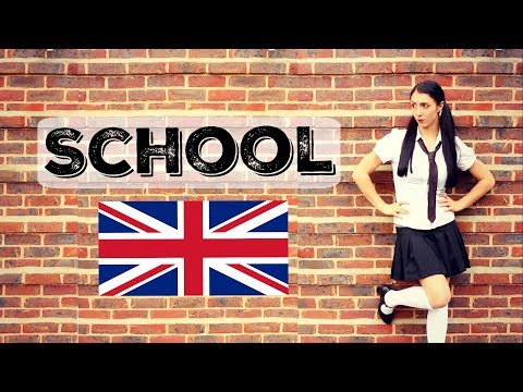 SCHOOL | Learn English Vocabulary | British Culture