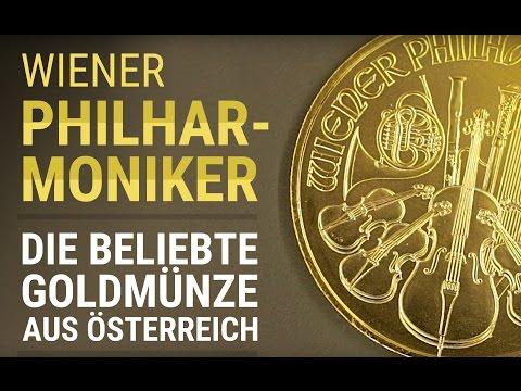 GOLD kaufen - Wiener Philharmoniker Goldmünze 1 Unze / Oz [DETAIL]