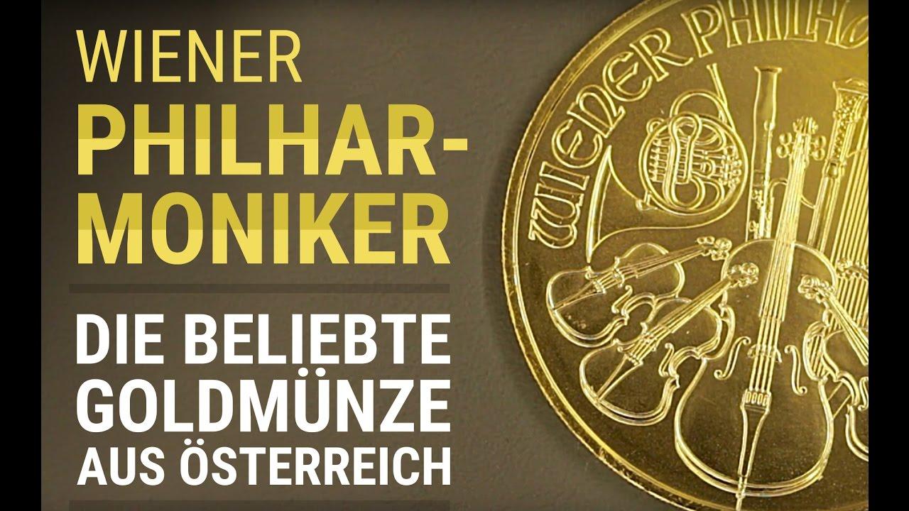Gold Kaufen Wiener Philharmoniker Goldmünze 1 Unze Oz Detail
