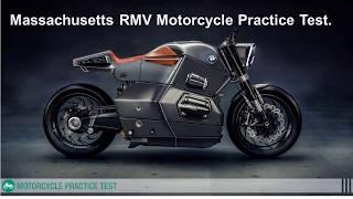 Massachusetts rmv motorcycle permit test questions
