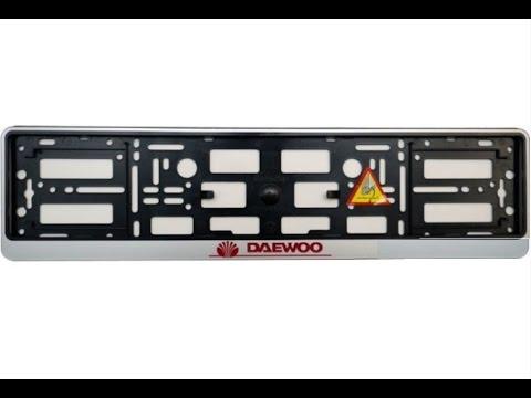 Держатель регистрационного номера для Daewoo Matiz на много циклов снятия установки