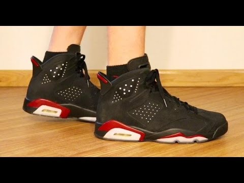 24362bd3de6 Custom  Infrared 6 s Turned Into Varsity Red 6 s - YouTube
