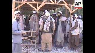 Three days as Taliban leave and Northern Alliance move in.