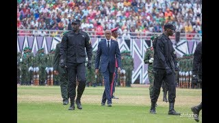 President Kagame convoy compilation.