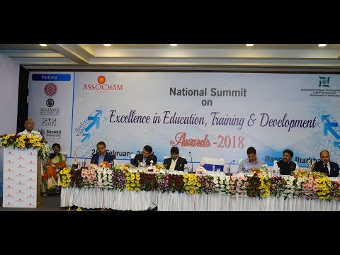 ASSOCHAM National Summit on excellence Education Training & Development Awards-2018  P-2