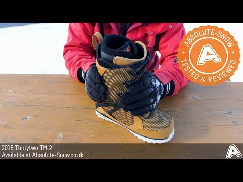 2017 / 2018 | Thirtytwo TM-2 Snowboard Boots | Video Review
