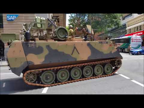 Freedom of Entry to the City of Brisbane Military Parade 2017
