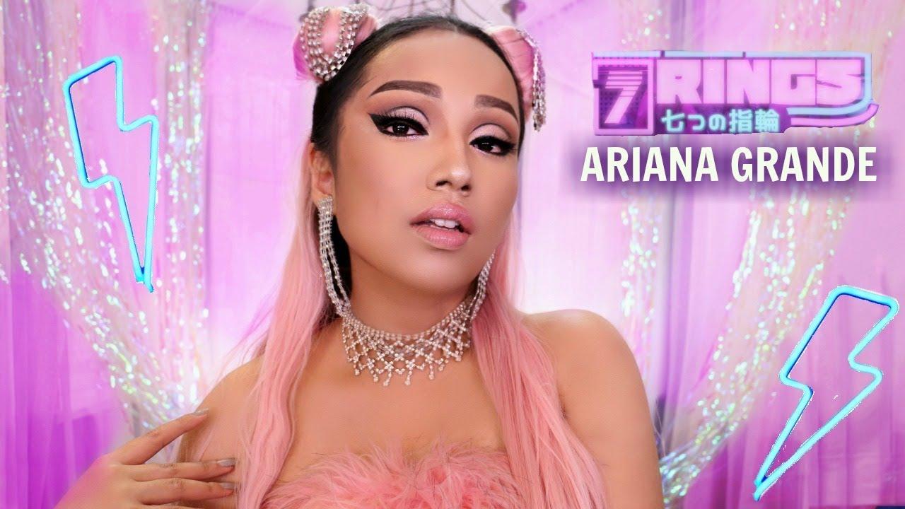 da945b1d12f ARIANA GRANDE '7 Rings' Makeup Transformation !!!