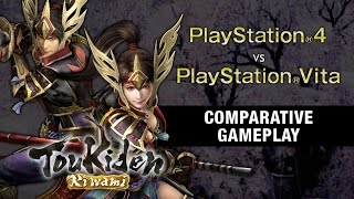 Toukiden: Kiwami - Comparative Gameplay Trailer
