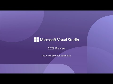 Visual Studio 2022 Preview 2 - Overview