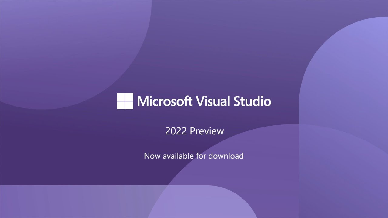 Visual Studio 200 Preview 20   Overview