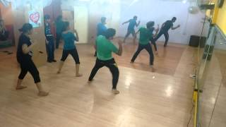 Daaru peeke dance, basic (8-9 batch)@ choreo by Ankit and Nikhil @Rudra Dance Acdemy ,laxmi nagar