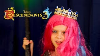 Descendants 3 -- Queen Of Mean -- by Miriam at 5 years old