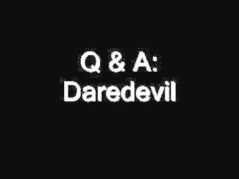 Q & A: Daredevil