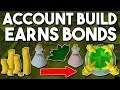 How to Build an Account in 4 Hours that Earns Bonds! [P2P] Building a Herblore Alt! [OSRS]
