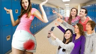 AWKWARD MOMENTS THAT HAPPEN ON YOUR PERIOD!