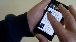 Using Firefox Mobile on the Nokia N9