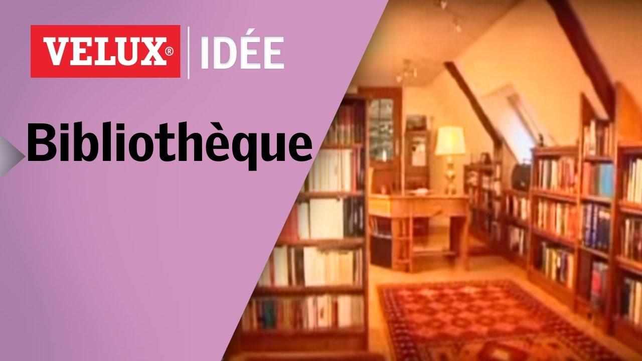 comment cr er une biblioth que sous les toits youtube. Black Bedroom Furniture Sets. Home Design Ideas